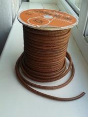 Ремень кожаный для ножного привода швейной машинки.